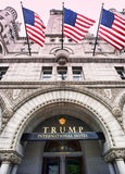 Trump International Hotel in Washington DC. Stock Image