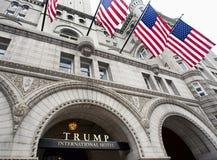 Trump International Hotel in Washington DC. Stock Photos