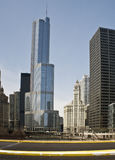 Trump International Tower Stock Photo