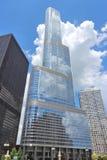 Trump Kontrollturm, Chicago Stockbild