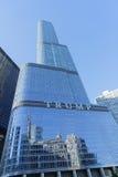 Trump la torre, Chicago imagenes de archivo