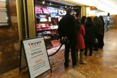 Trump Pence Store royalty free stock photo