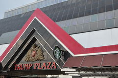 Trump Plaza in Atlantic City, New Jersey Stock Image