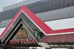 Trump Plaza in Atlantic City, New Jersey Stock Image