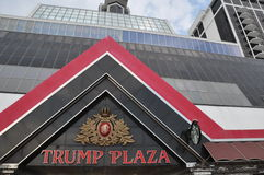 Trump Plaza in Atlantic City, New Jersey Royalty Free Stock Image