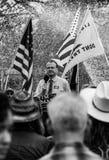 Trump ralley/protest covid-19