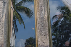 Trump`s Florida Retreat. Florida,USA - April 7th,2017:Mar-a-Lago is Donald Trump`s Palm Beach retreat.President Trump uses his Florida estate Mar-a-Lago as a royalty free stock photos