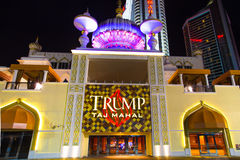 Trump Taj Mahal Atlantic City Royalty Free Stock Photography