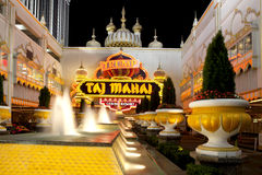 Trump Taj Mahal Casino Stock Photo