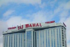 Trump Taj Mahal Stock Photography