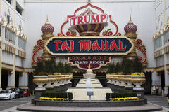Trump Taj Mahal Casino Resort Fotografia Stock
