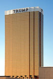 Trump Tower. A exterior shot of the Trump Tower residents and hotel in Las Vegas Stock Image