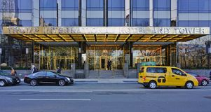 The Trump Tower on Central Park West in New York City Royalty Free Stock Images