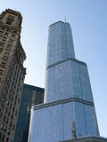 TRUMP TOWER CHICAGO Stock Image
