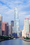Trump Tower Chicago Royalty Free Stock Photo