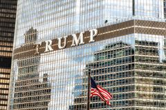 Trump Tower Chicago Royalty Free Stock Images