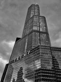 Trump Tower Chicago royalty free stock photos