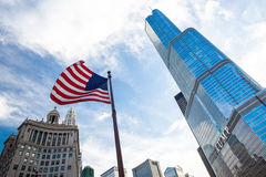 Trump Tower in Chicago Royalty Free Stock Photography