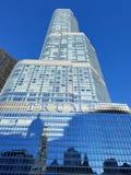 Trump Tower, Chicago. stock photos