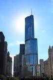 Trump tower Chicago Stock Photos