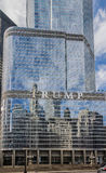 Trump Tower in Chicago Royalty Free Stock Image