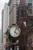 Trump Tower Clock Presbyterian Church New York Royalty Free Stock Photos