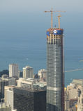 Trump Tower construction Stock Photography