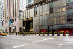 Trump Tower Fifth Ave NYC Royalty Free Stock Photos