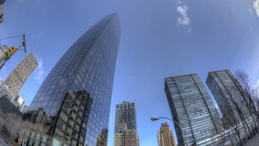 Trump Tower Fisheye stock video footage