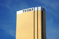 Trump Tower in Las Vegas Royalty Free Stock Photos