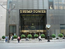 Trump Tower, Manhattan, New York Royalty Free Stock Photography