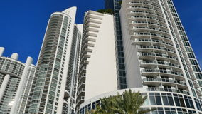 Trump Tower Sunny Isles Beach stock video