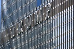THE TRUMP TOWER stock photography