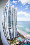 The Trump Towers in Miami. View from the Trump Towers in Miami, Florida, USA Royalty Free Stock Photo