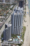 Trump Towers Sunny Isles Beach FL Stock Photo
