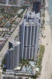 Trump Towers Sunny Isles Beach FL Stock Photo
