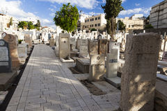 Trumpeldor Cemetery. Tel Aviv. Israel. Royalty Free Stock Photography