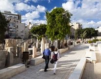 Trumpeldor Cemetery. Tel Aviv. Israel. Royalty Free Stock Photo