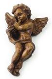 trumpet ангела Стоковое Изображение