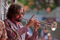 trumpet этапа стоковые фото