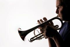 trumpet 05 игроков Стоковое Изображение RF