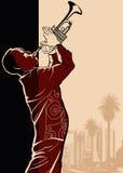 Игрок Trumpet Стоковое Фото