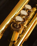 Trumpet. Close up shot of trumpet valves Royalty Free Stock Images