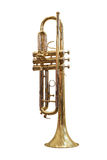Trumpet. Under the white background Royalty Free Stock Photography