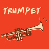 Trumpet vector Stock Photography