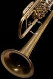старый trumpet стоковое изображение rf