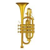 trumpet vektor illustrationer