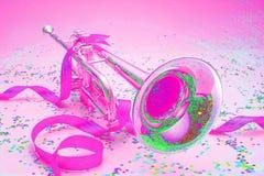 Trumpet-B56 Stock Photo