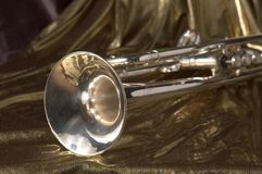 Trumpet bell stock photos