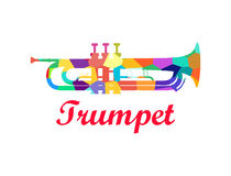 Trumpet - Brass Orchestra Musical Instrument Royalty Free Stock Image